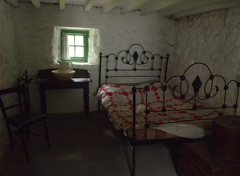 Tuesday August 12th (2014) ulster farmer's bedroom