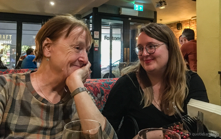 Saturday December 14th (2019) birthday night out