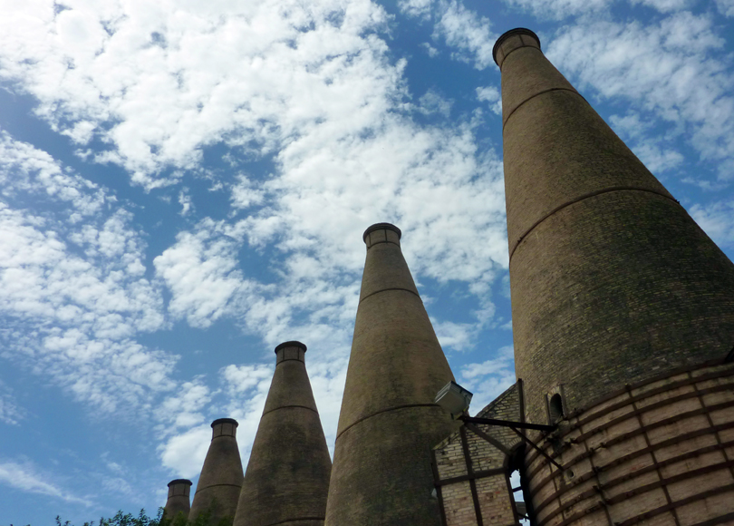 Wednesday August 15th (2012) five kilns