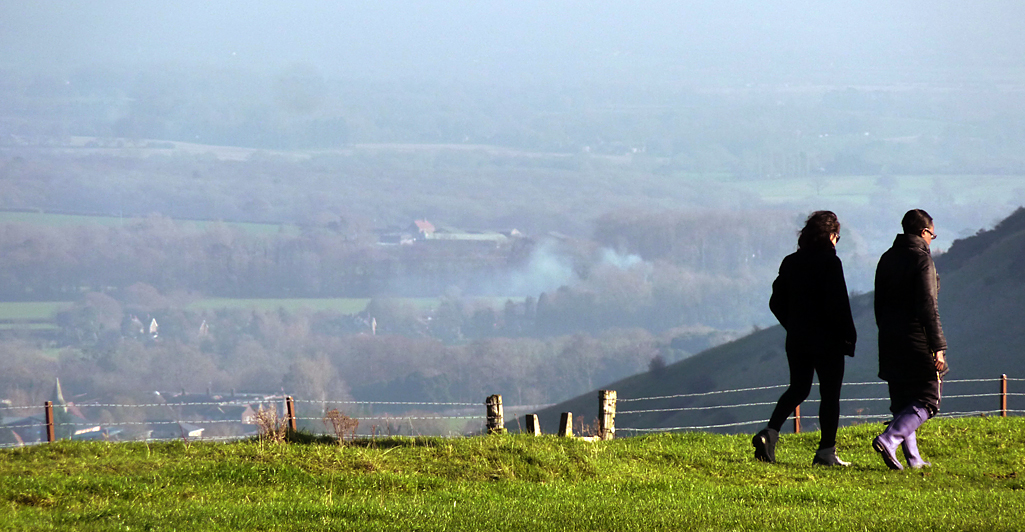 Saturday November 29th (2014) at ditchling beacon