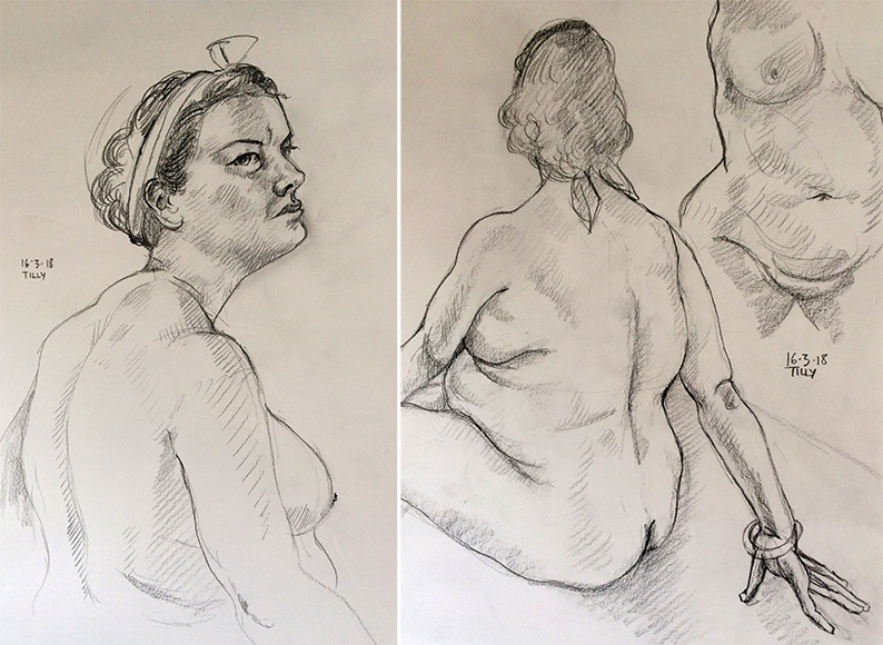 Friday March 16th 2018 life drawing friday width=