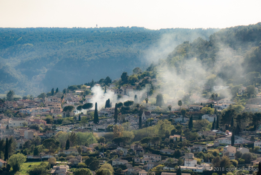 Monday April 23rd (2018) from st. paul de vence