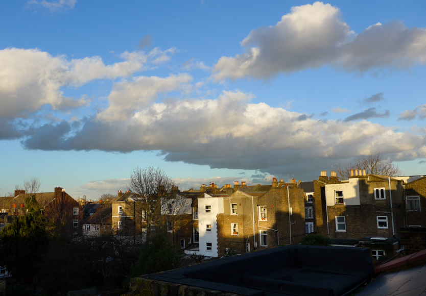 Thursday January 15th (2015) afternoon in peckham