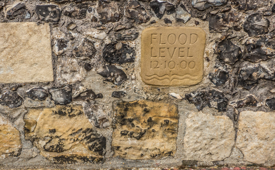 Friday October 14th (2016) flood level