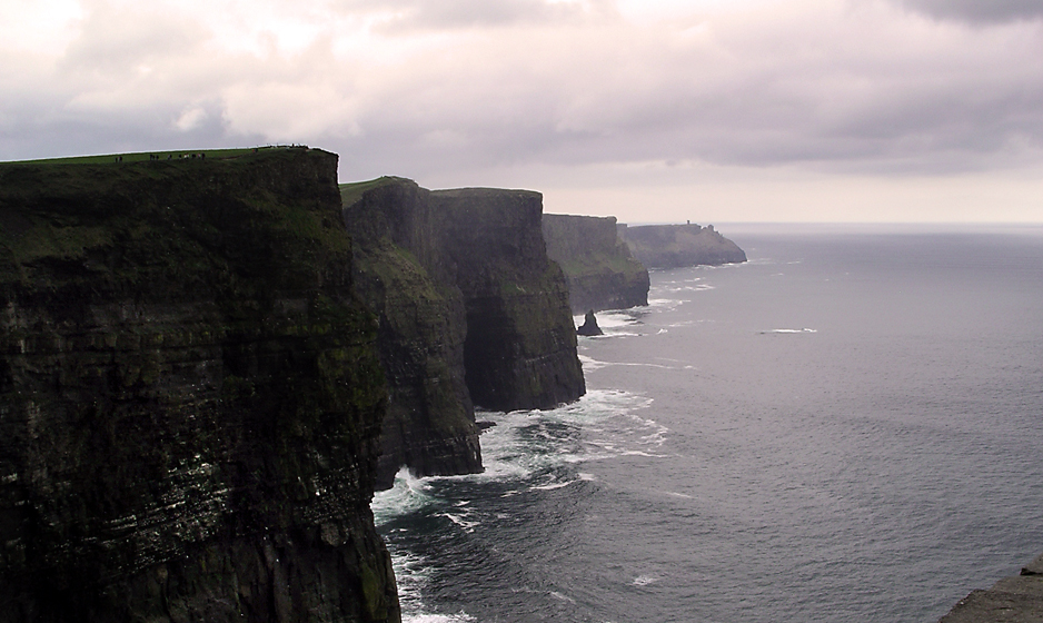Saturday December 12th (2009) cliffs of moher