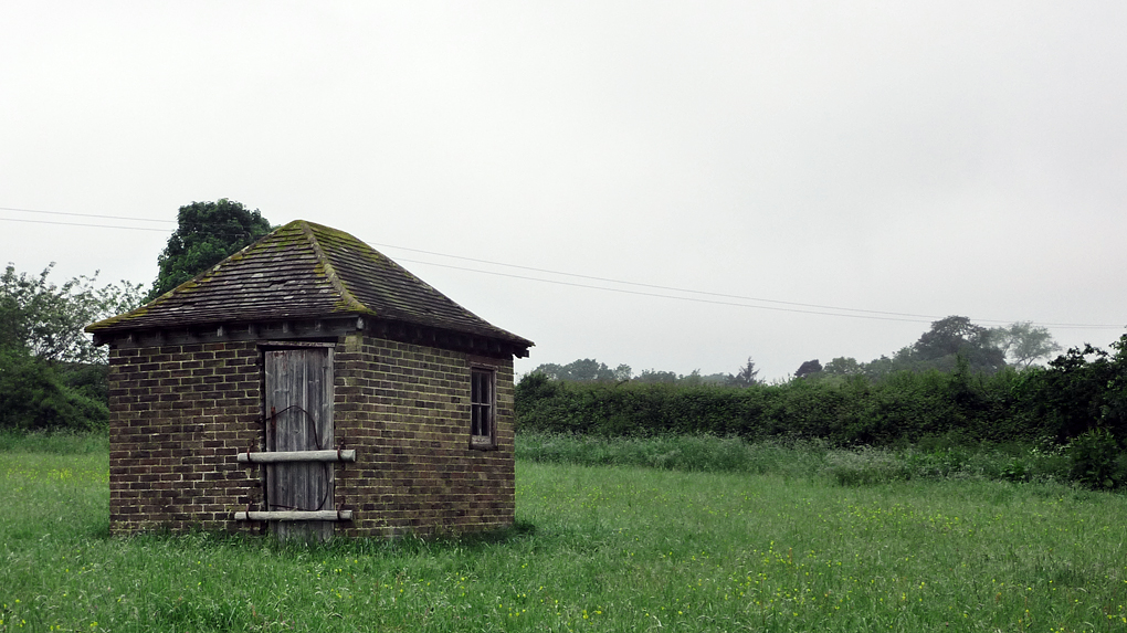 Wednesday June 27th (2012) hut in a field