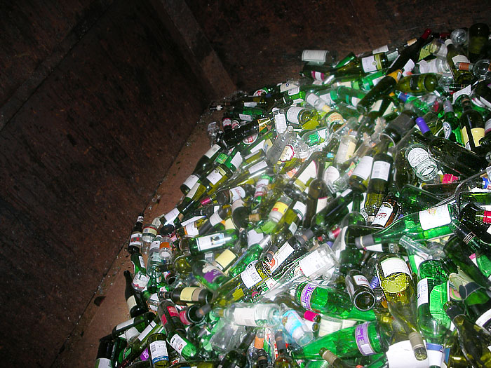 Sunday March 5th (2006) bottle bank