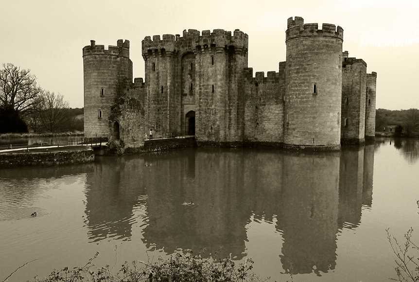 Friday April 4th (2014) bodiam castle