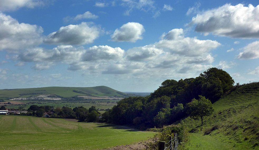 Monday August 30th (2010) mount caburn from swanborough