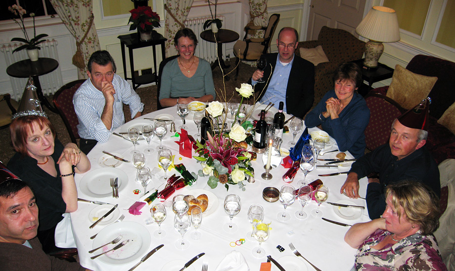 Monday December 17th (2007) annual dinner
