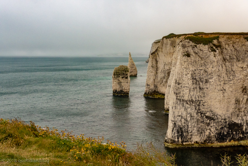 Tuesday June 19th 2018 old harry's rocks width=
