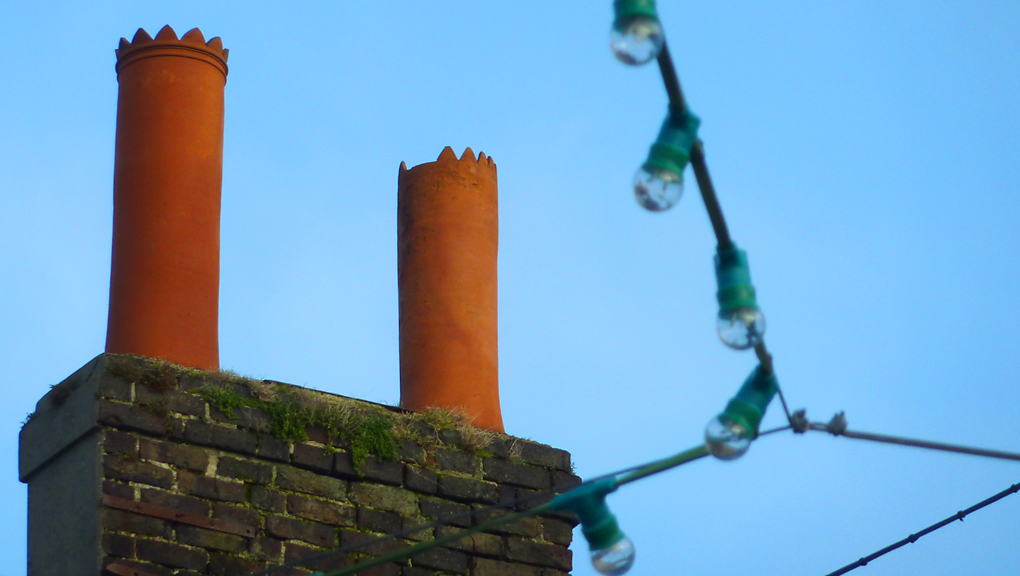 Tuesday December 18th (2012) chimneys and bulbs