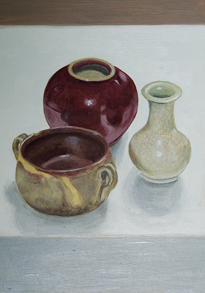 Saturday July 29th (2017) three small pots