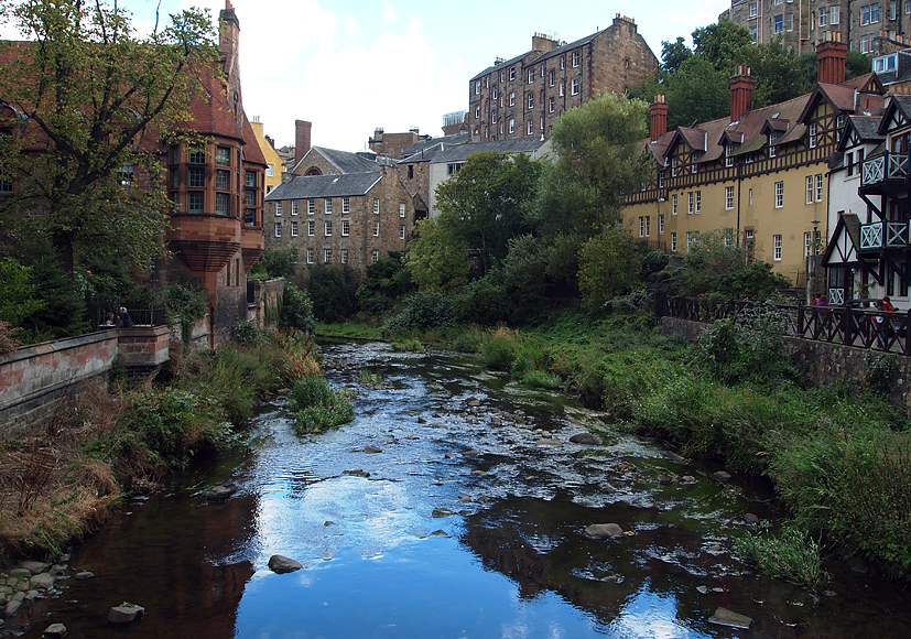 Tuesday September 10th (2013) water of leith