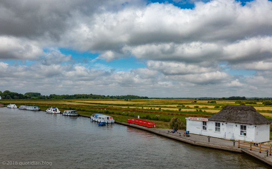 Tuesday July 10th (2018) river bure (acle bridge)