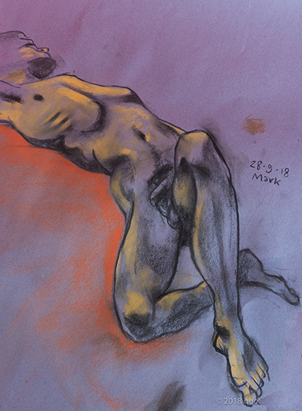 Friday September 28th (2018) life drawing friday