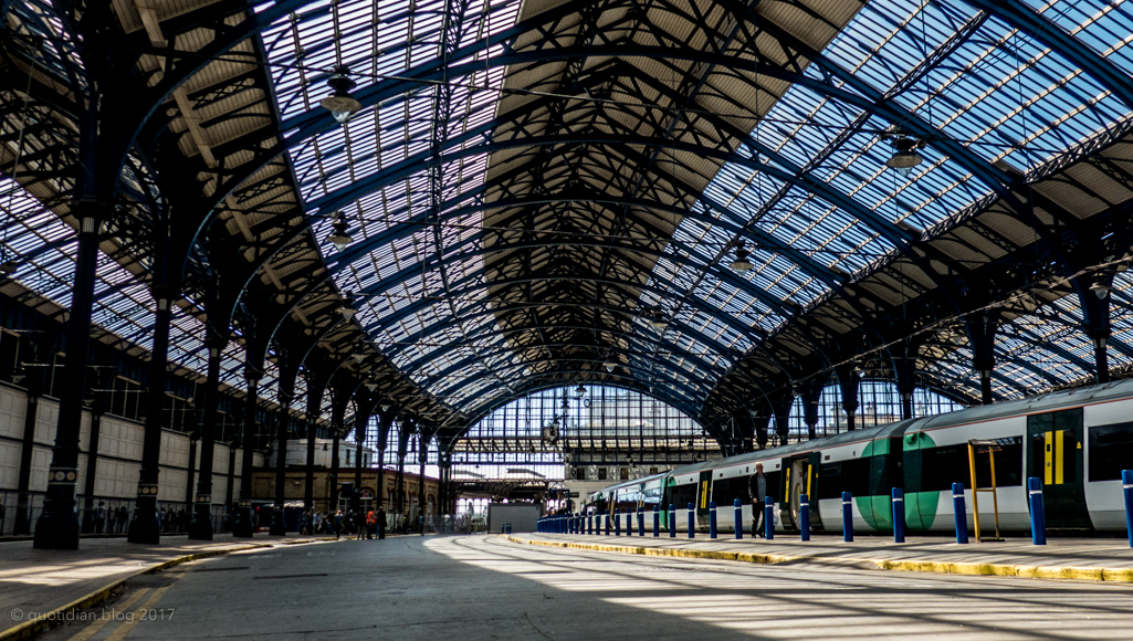 Sunday July 23rd (2017) brighton train shed