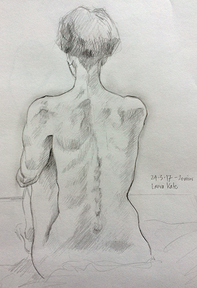 Friday March 24th (2017) friday life drawing