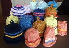 Mon 22nd<br/>hats for kenyan babies