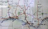 Wed 7th<br/>southern railway map (detail)