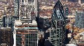 Sun 17th<br/>walkie-talkie and gherkin from above