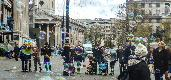 Tue 10th<br/>bubbles in trafalgar square